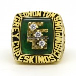 1980 Edmonton Eskimos Grey Cup Ring
