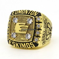 1981 Edmonton Eskimos Grey Cup Ring