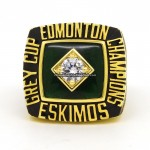 1982 Edmonton Eskimos Grey Cup Ring