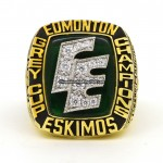 1987 Edmonton Eskimos Grey Cup Ring