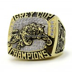 1999 BC Lions Grey Cup Championship Ring