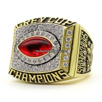 2001 Calgary Stampeders Grey Cup Championship Ring