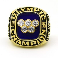 1996 USA Basketball Team Olympic Championship Ring