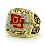 2015 Denver Pioneers NCAA National Championship Ring