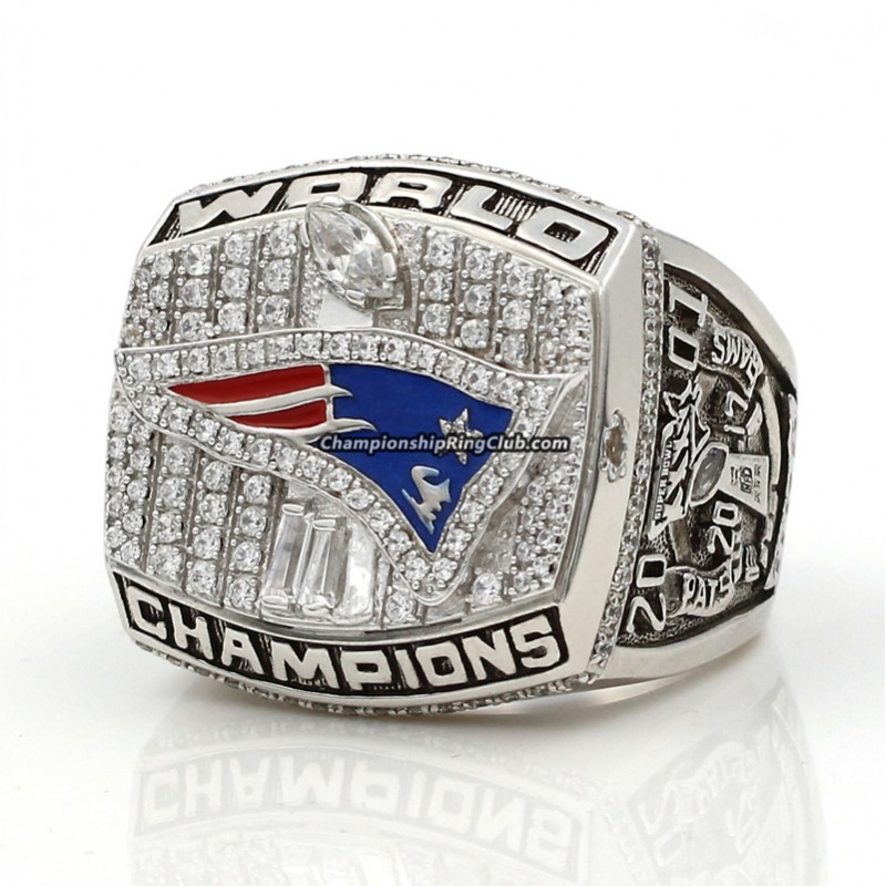 2001 New England Patriots Super Bowl Ring