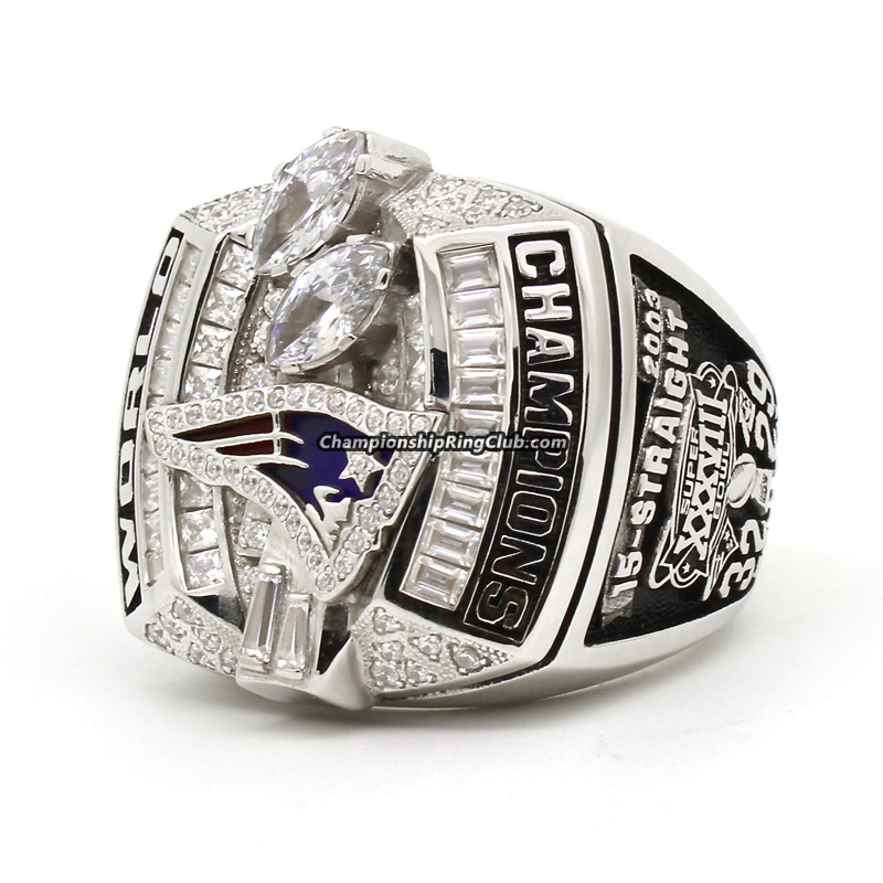 2003 New England Patriots Super Bowl Ring