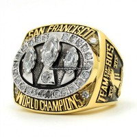 1988 San Francisco 49ers Super Bowl Ring