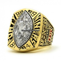 1989 San Francisco 49ers Super Bowl Ring
