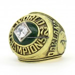 1972 Oakland Athletics World Series Ring