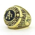 1974 Oakland Athletics World Series Ring