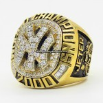 2000 New York Yankees World Series Ring