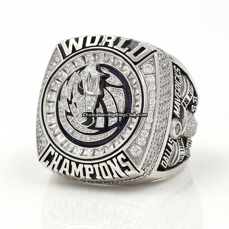 2011 Dallas Mavericks NBA World Championship Ring