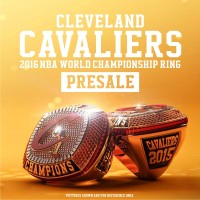 Presale:2016 Cleveland Cavaliers NBA World Championship Ring
