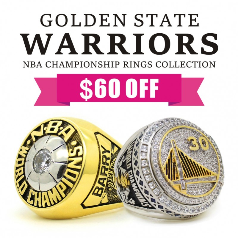 Golden State Warriors Championship Rings Collection