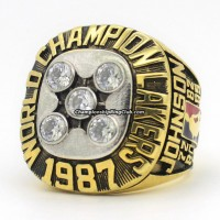 1987 Los Angeles Lakers NBA Championship Ring