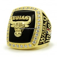1991 Chicago Bulls NBA Championship Ring