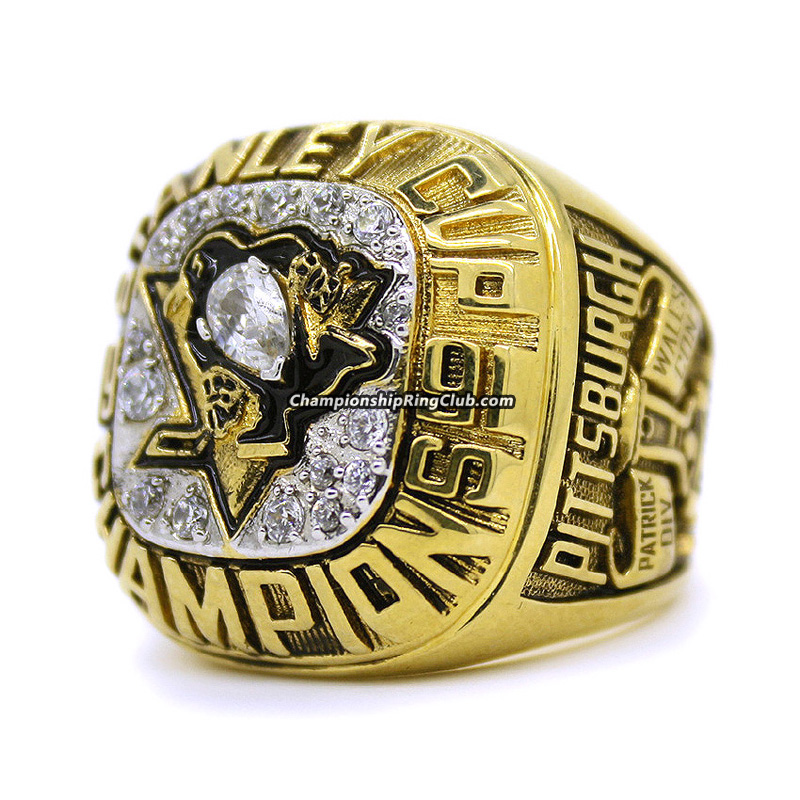1991 Pittsburgh Penguins Stanley Cup Championship Ring