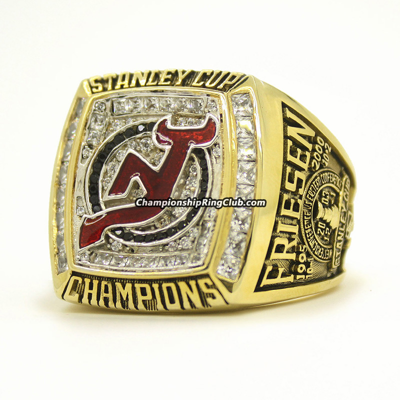2003 New Jersey Devils Stanley Cup Championship Ring