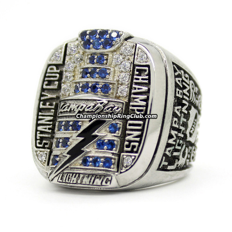 2004 Tampa Bay Lightning Stanley Cup Championship Ring