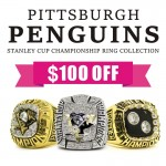 Pittsburgh Penguins NHL Championship Rings Collection