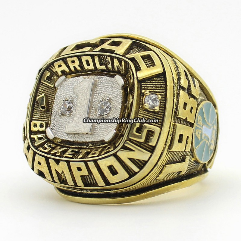 1982 North Carolina Tar Heels National Championship Ring