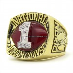1985 Oklahoma Sooners NCAA National Championship Ring