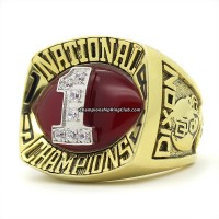 1985 Oklahoma Sooners National Championship Ring