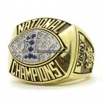 1986 Penn State Nittany Lions NCAA National Championship Ring