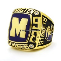 1998 Michigan Wolverines NCAA Big Ten Championship Ring