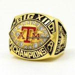 1998 Texas A&M Aggies NCAA Big 12 Ring