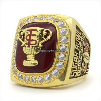 2000 Florida State Seminoles NCAA Sugar Bowl Championship Ring