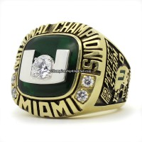 2001 Miami Hurricanes NCAA National Championship Ring