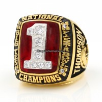 2002 Ohio State Buckeyes NCAA National Championship Ring