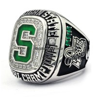 2007 Michigan State Spartans NCAA National Championship Ring