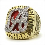 2009 Alabama Crimson Tide National Championship Ring
