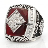 2010 South Carolina Gamecocks Baseball National Championship Ring
