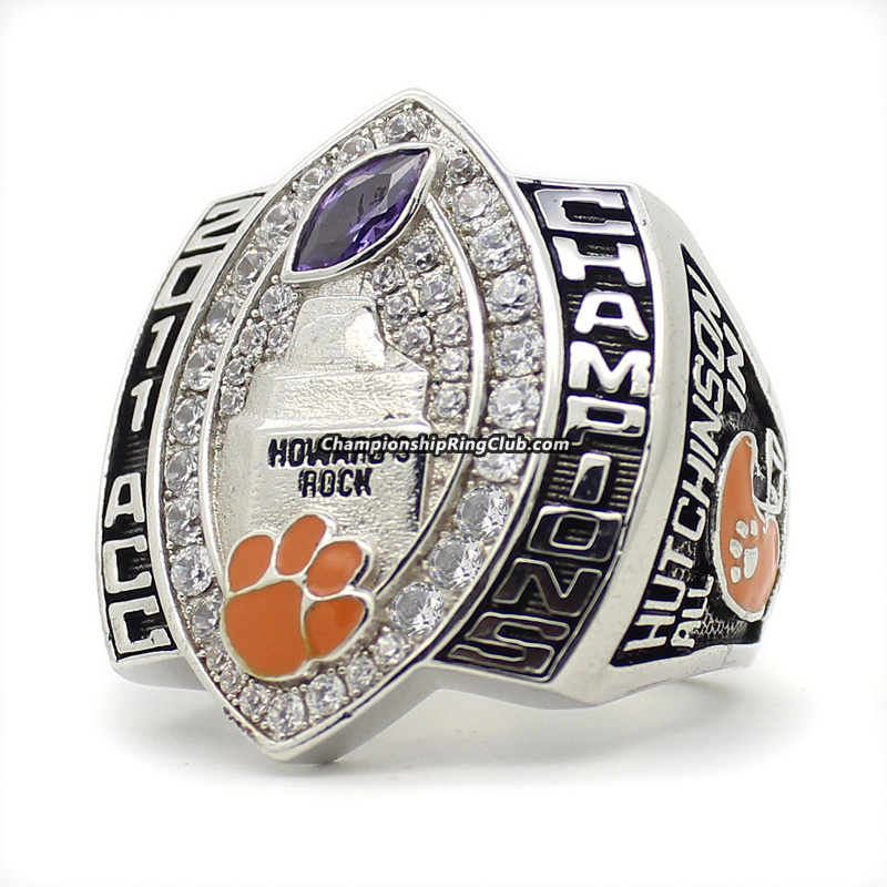 2011 Clemson Tigers NCAA ACC Championship Ring