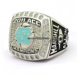 2011 North Carolina Tar Heels NCAA ACC championship ring