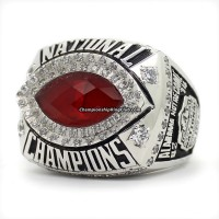 2012 Alabama Crimson Tide NCAA BCS National Championship Ring