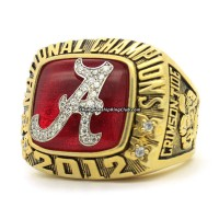 2012 Alabama Crimson Tide Fans Ring
