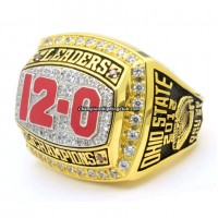 2012 Ohio State Buckeyes Big Ten Championship Ring