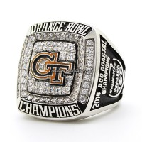 2014 Georgia Tech Yellow Jackets Orange Bowl Championship Ring