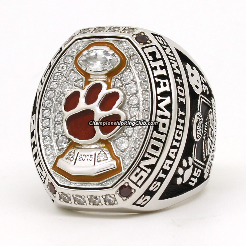 2015 Clemson Tigers NCAA ACC Championship Ring