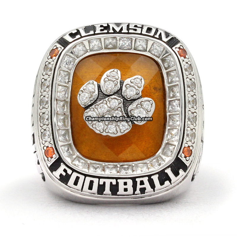 2015 Clemson Tigers NCAA Orange Bowl Championship Ring