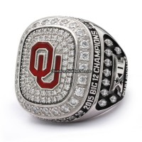 2015 Oklahoma Sooners Big 12 Championship Ring