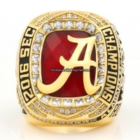 2016 Alabama Crimson Tide SEC Championship Ring