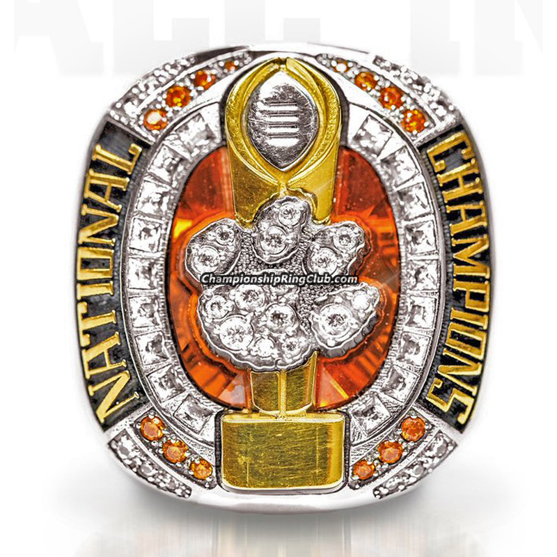 2016 Clemson Tigers Football National Championship Ring