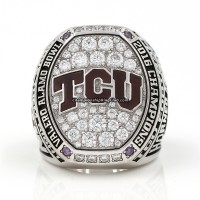 2016 TCU Texas Christian Horned Frogs Alamo Bowl Ring