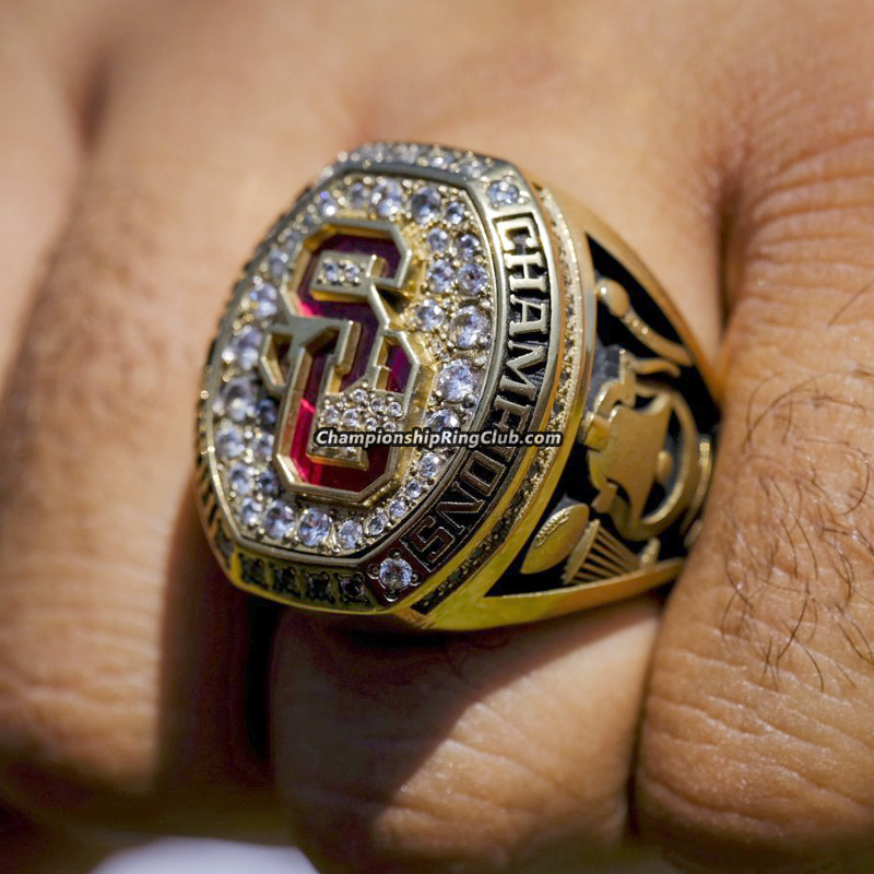 2016 USC Trojans Rose Bowl Championship Ring