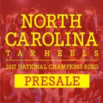 Presale:2017 North Carolina Tar Heels National Championship Ring